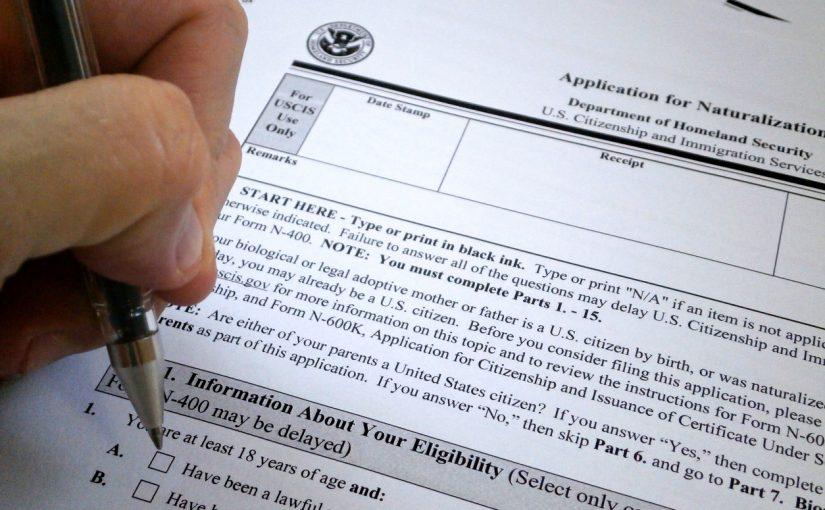naturalization fee waiver